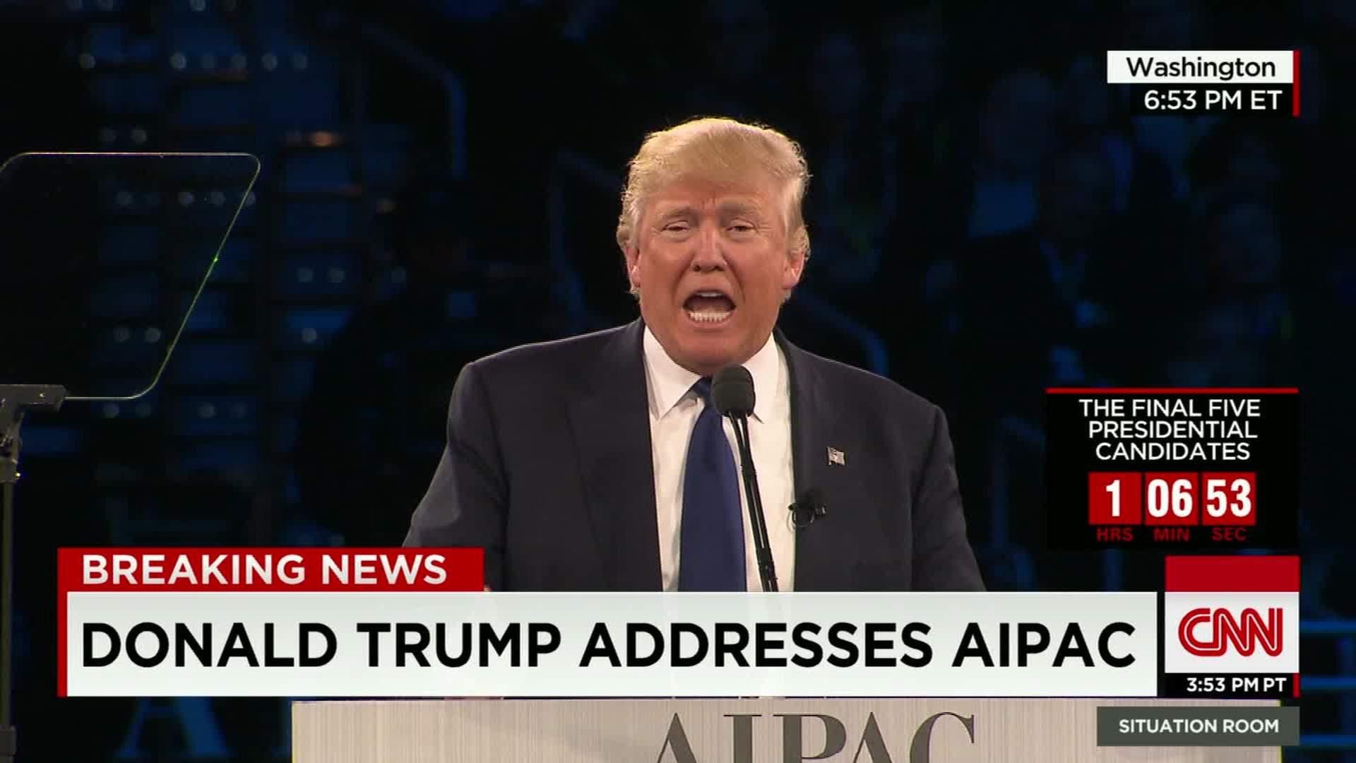 Donald Trump Exposed AIPAC